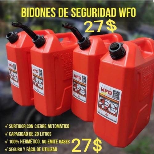 Bidones De 20 Lts Para Gasolina Pico Anti Derrame Importados