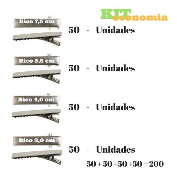 Acessórios Para Artesanato Kit 200 Bico De Pato Sortidos
