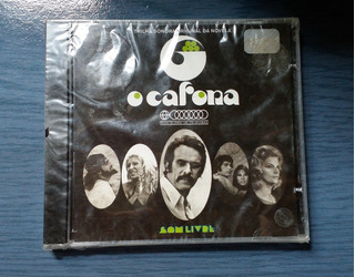 Cd Novela O Cafona Nacional - (novo-lacrado) - Frete R$10,00