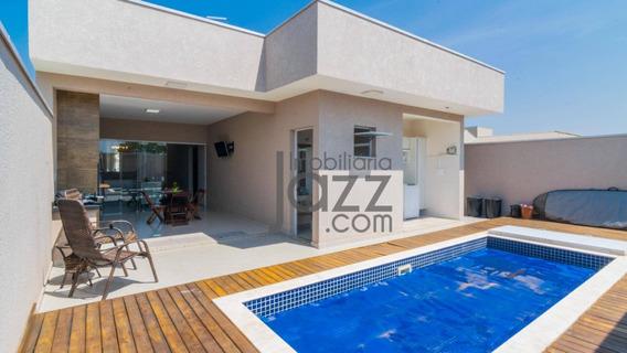 Fantástica Casa Térrea No Condomínio Campos Do Conde 2 Em Paulínia - Ca4722