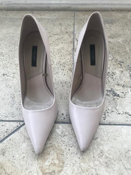 Zapatos Stilletos Zara - Talle 40 - Muy Poco Uso