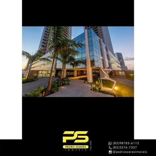 Apartamento Com 3 Dormitórios À Venda, 90 M² Por R$ 550.000 - Aeroclube - João Pessoa/pb - Ap4564