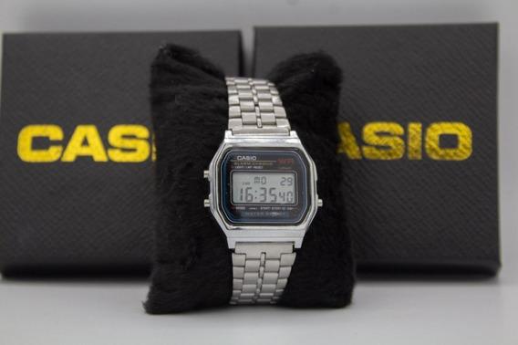 Relógio Casio Retro Dourado Prata Vintage Unissex