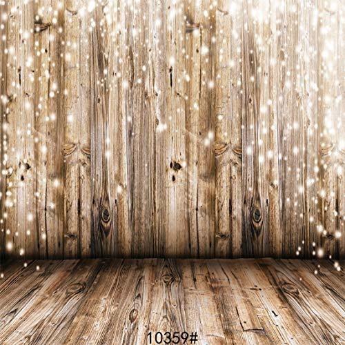Sjoloon 10x10ft Vinilo Fotografo Fondo Boda Madera Fotografi