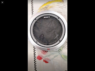 4 Rejillas Sony Xplod Para Bocinas 6.5