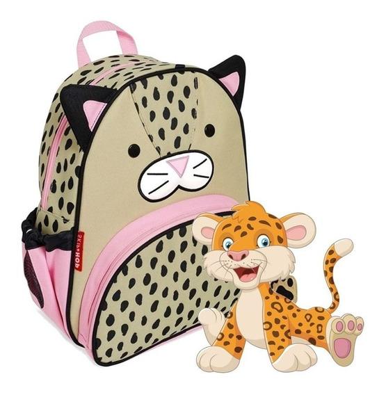 Mochila Skip Hop Leopardo Infantil Original 100% Cod 210238