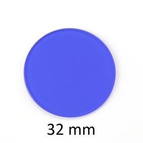 Kit 2 Filtros De Microscópio 32mm Azul C311/b12 Carl Zeiss