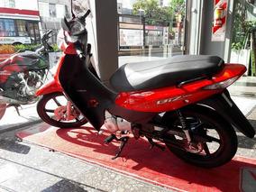 Honda Biz 125 0km 2018 Color Rojo