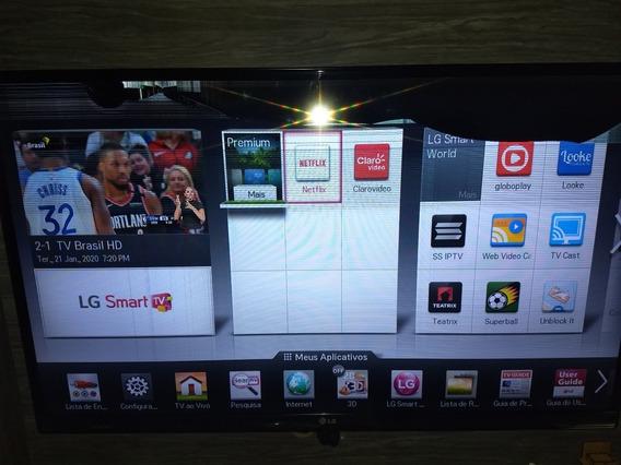Smart Tv LG Led Full Hd 42 3d Com Defeito Display