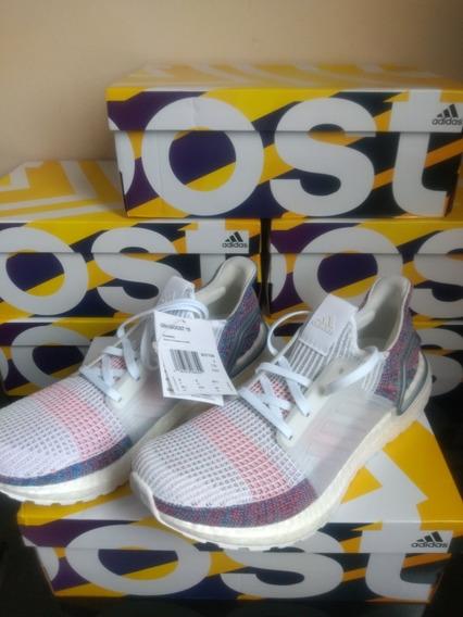 Tênis adidas Ultraboost 19 Ftwr White Tam 41 Original Top!!!