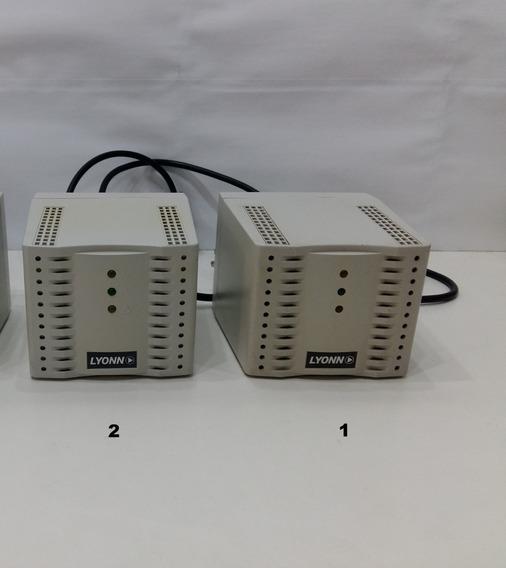 Estabilizador De Tension Lyonn 1200va 4 Tomas Pc Monitor Tv