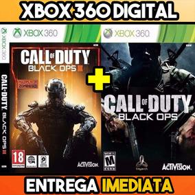 Cod Combo Bo3 + Bo1 Completo Midia Digital Xbox 360 Promoção