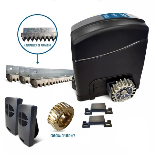 Motor Para Portón Corredizo Trino Soft Rapido 1.0