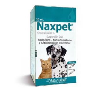 Naxpet Ketoprofeno Jarabe Perro Gato Inflamacion Fiebre Dolo