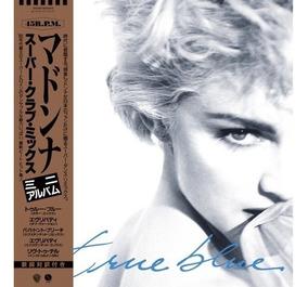 Madonna True Blue Super Club Mix Vinilo Azul Nuevo Importado