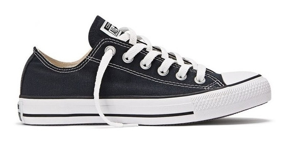 Zapatillas Converse All Star Core Ox Negro Unisex 157196c