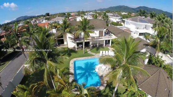 Casa Em Condomínio Para Locação Em Guarujá, Jardim Acapulco, 6 Dormitórios, 4 Suítes, 6 Banheiros, 8 Vagas - 2452