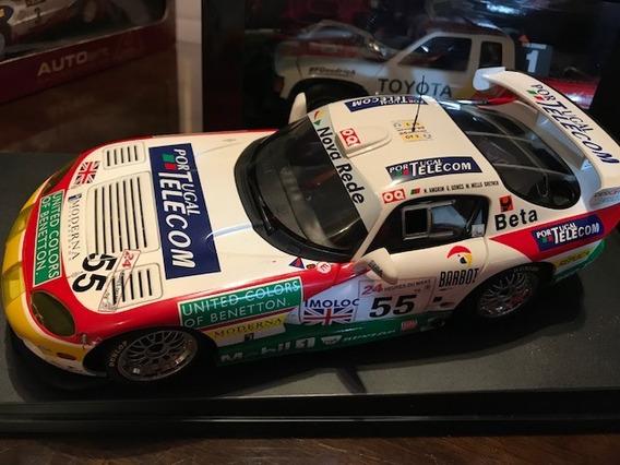 Autoart 1/18 Dodge Viper Gtsr #55 Le Mans 1998