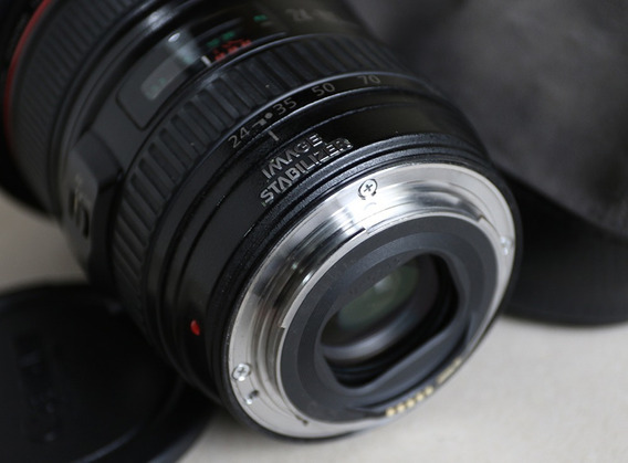 Objetiva Canon Ef 24-105mmf/4l Is