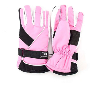 Guantes Invierno Termico Mujer Impermeable Moto Ajustable