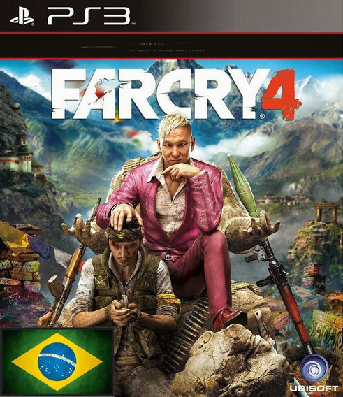 Far Cry 4 Psn Ps3 Envio Rapido Portugues