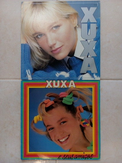 2 Lps Xuxa E Seus Amigos E Espanhol Vinil Frete Grátis