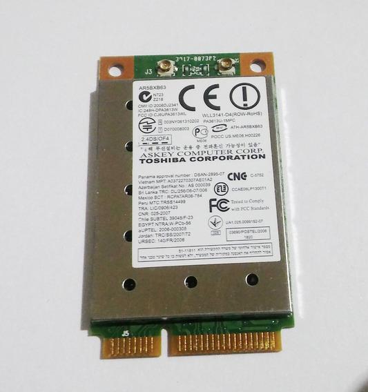 Placa Wifi / Reparación De Toshiba Satellite L305d-s5881