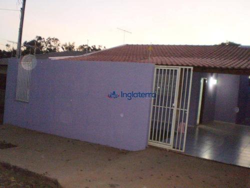 Imagem 1 de 11 de Casa À Venda, 60 M² Por R$ 185.000,00 - Aragarça - Londrina/pr - Ca1673