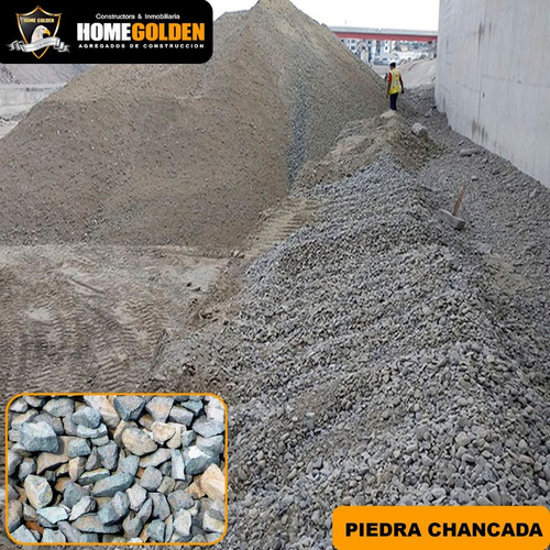 Imagen 1 de 1 de Piedra Chancada X Sacos Para Construcción