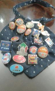 Colección De 19 Pines De Burger King. (115)
