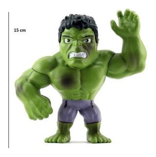 Figura Hulk Metal Jada Marverl 15cm Original