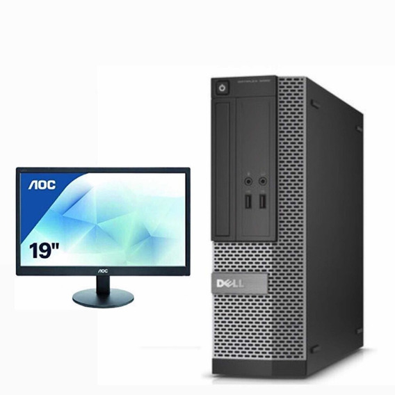 Computador Dell Corei5 4gb Ram 500gbdd+ Monitor Aoc 19
