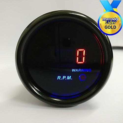 Medidor De Rpm Tacometro  Digital Para Auto Universal