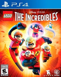 Lego The Incredibles Ps4 Digital Gcp