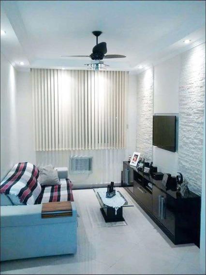 Apartamento Com 2 Dorms, Parque Bitaru, São Vicente - R$ 325 Mil, Cod: 1455 - V1455