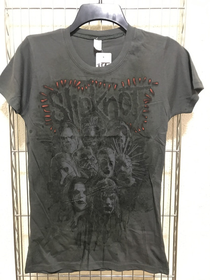 Blusa Playera Slipknot Dama Original Hot Topic
