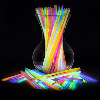 Glow Sticks Bulk 100 Count 8 Partysticks Brand Premium Glow