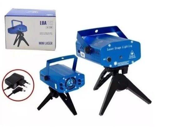 Mini Canhão Laser Iluminação Para Festas Luatek Lk-173