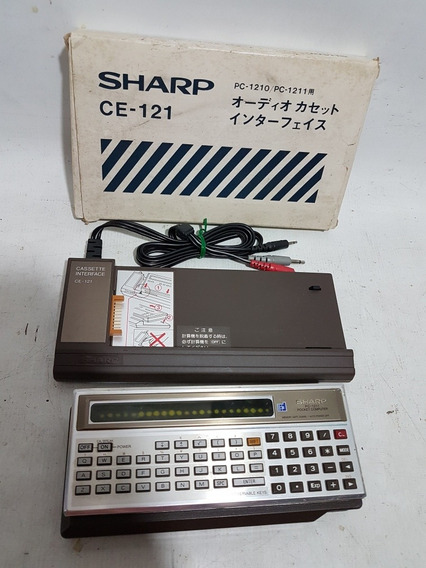 Calculadora Antiga Sharp Pc1211