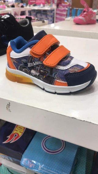 Zapatos Con Luces Hotwheels