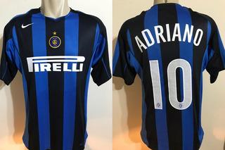 Camisa Nike Inter Milão 2004 2005 Adriano Tamanho G