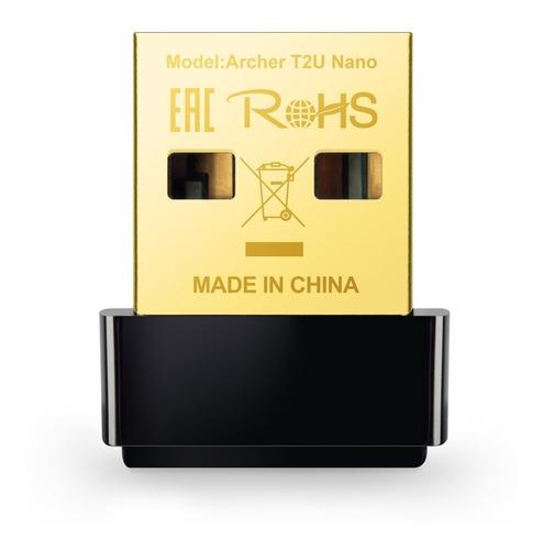 Adaptador Wifi Usb Tp-link Dual Band Ac600 Archer T2u Nano