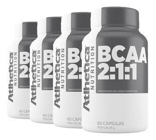 Kit Atacado 4x Bcaa Pro Series - Atlhetica Nutrition