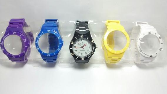 Relógio Troca Pulseira Retrô Vintage Barato Novo Promoção