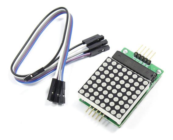 Diy Max7219 8*8 Módulo Matrix Para Arduino
