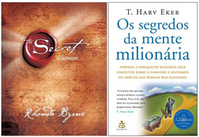 Livro Os Segredos Da Mente Milionária + O Segredo The Secret