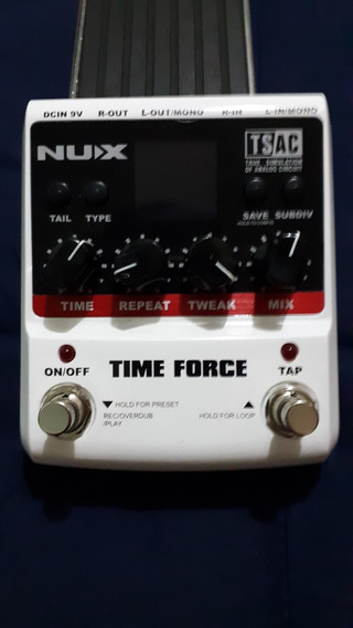 Pedal Guitarra Nux Time Force Delay - Frete Grátis