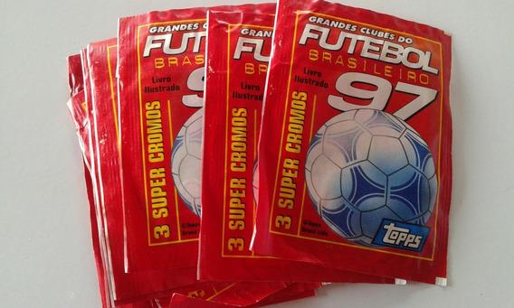 Envelope Lacrado Grandes Clubes Futebol Brasileiro 97 5 Und