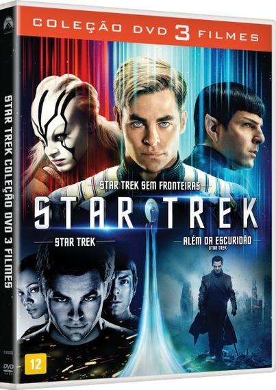 Dvd Coleção Star Trek - 3 Filmes - Original Lacrado Dublado