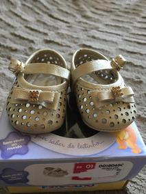 Sapato Bebê Menina